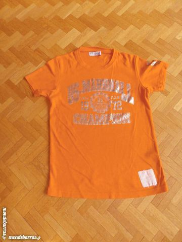 Tee-shirt US Marshall orange (50) 10 Tours (37)