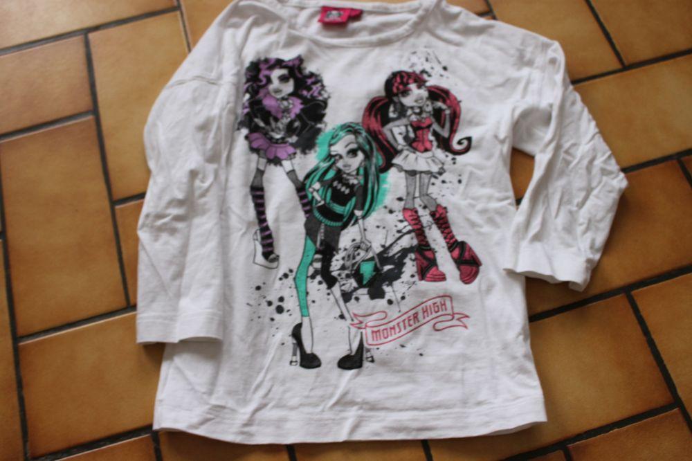 t-shirt monster high 5/6 ans 3 Wervicq-Sud (59)