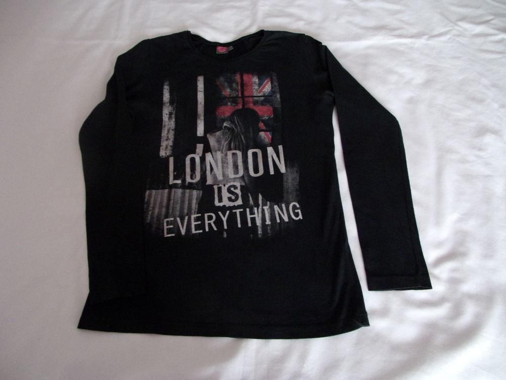 Tee-shirt noir London 4 Cannes (06)