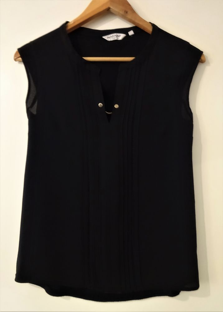 T-shirt noir Naf Naf XS 5 Saint-Laurent-du-Var (06)