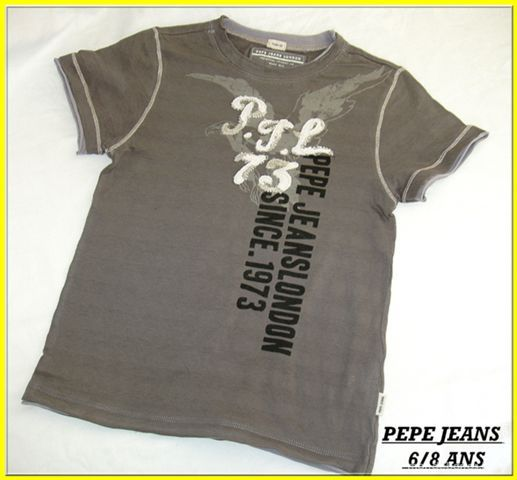 T-shirt PEPE JEAN 6/8 ANS 10 Toulouse (31)