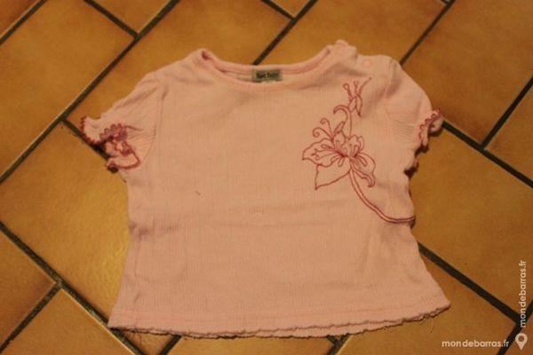 T-shirt rose petit boy 6 mois 5 Wervicq-Sud (59)