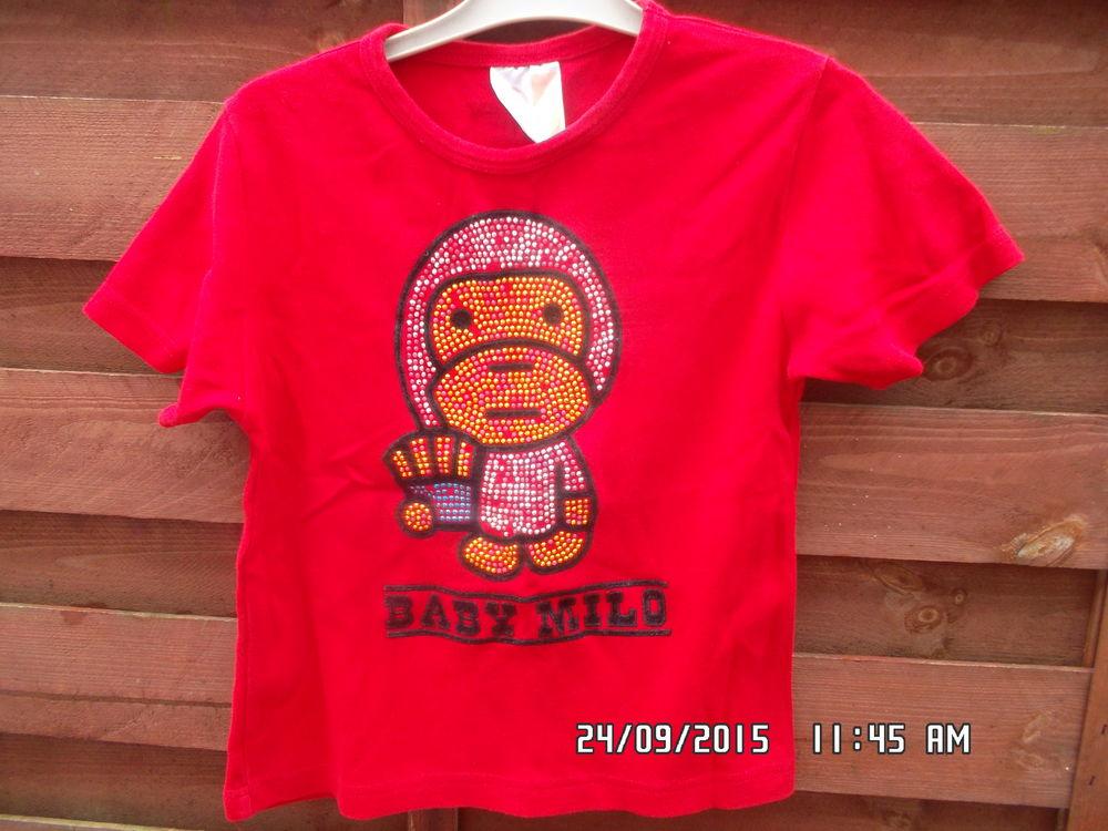 TEE SHIRT ROUGE BABY MILLO*JUSTE 1E*KIKI60230 1 Chambly (60)