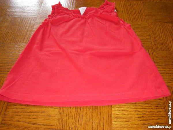 tee-shirt rouge  et un rose 18 mois fille 2 Laventie (62)