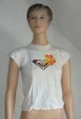 tee shirt d été roxy 36 38 manches courtes hibiscus 5 Bonnelles (78)