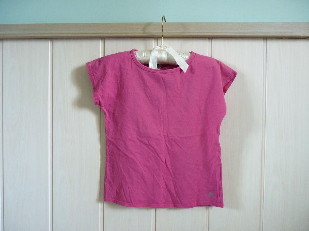 t-shirt sport domyos fille rose 8 ans tbe 1 Brienne-le-Château (10)