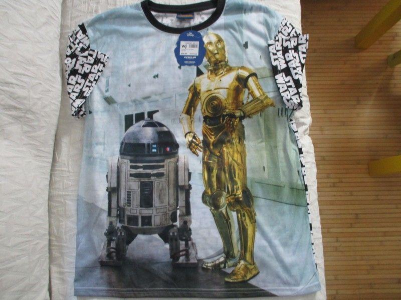 t shirt XL star wars disney c3po r2d2 robot neuf 20 Lognes (77)