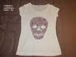 T-shirt Tête de Mort CAMAIEU Taille 1/36 Vêtements