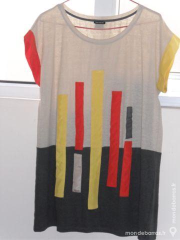 Tee shirt tunique en lin 40 Aubenas (07)