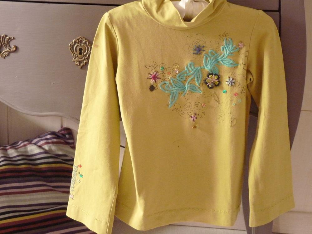 t-shirt vert fille catimini 6 ans tbe 10 Brienne-le-Château (10)