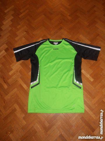 Tee-shirt vert et noir (V5) 5 Tours (37)