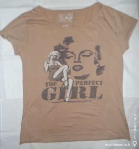 Tee-shirt «VINTAGE» - «Marilyn Monroe» - femme 3 Pont-Péan (35)