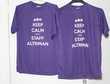 2 Tee shirt violet XXL - unisexe