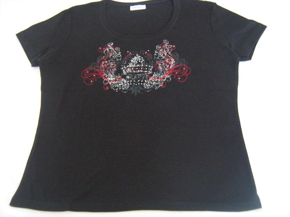 Tee-shirt Yessica noir 5 Cannes (06)