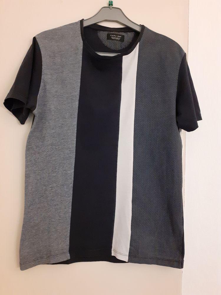T shirt Zara Man manches courtes 5 Mandelieu-la-Napoule (06)