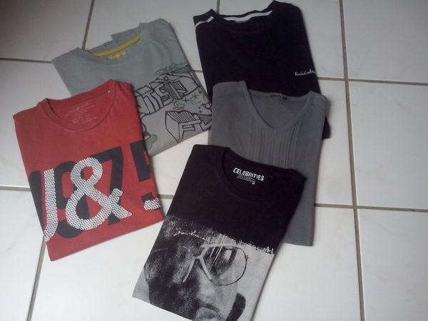 Lot de 5 T-shirt 9 Lannion (22)