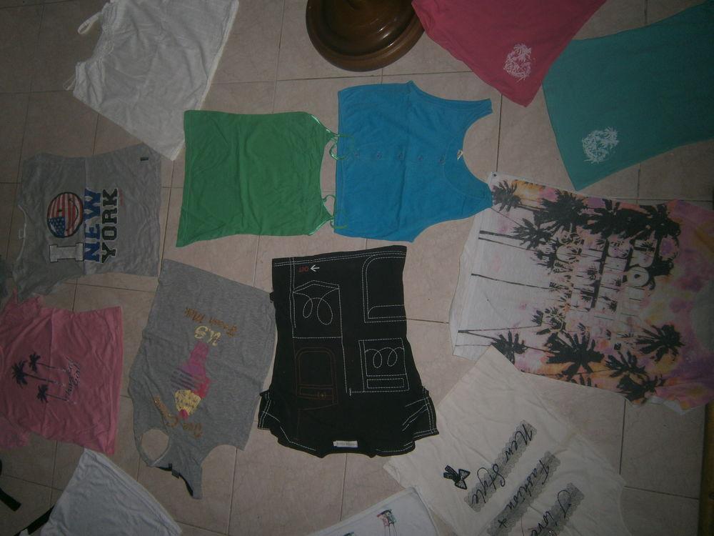 lot T shirt 12 ans 6 Annonay (07)
