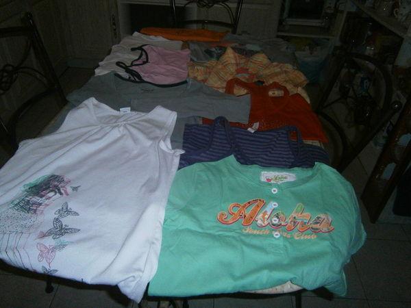 lot de T shirt 12 ans 10 Annonay (07)