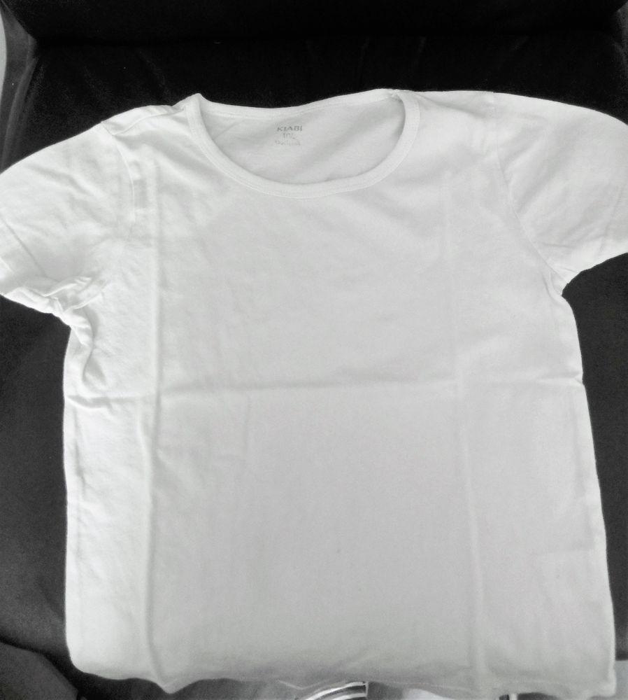 T-shirts blancs (col rond) 5 Saint-Jean-du-Cardonnay (76)