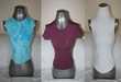 Tee-shirts 1 bordeaux ESPRIT 1 turquoise DDP 1 blanc cache