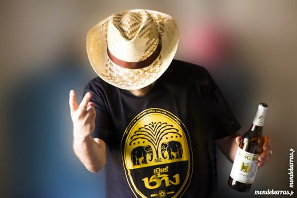 T-Shirts Chang Beer neufs made in Thailand 13 Wasselonne (67)