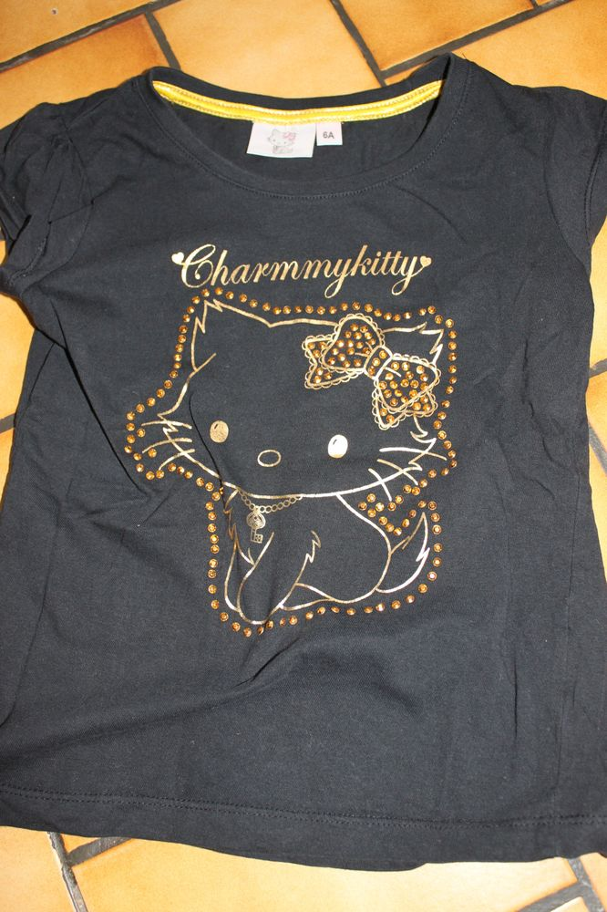 Lot 2 t-shirts charmy et hello kitty 6 ans 7 Wervicq-Sud (59)