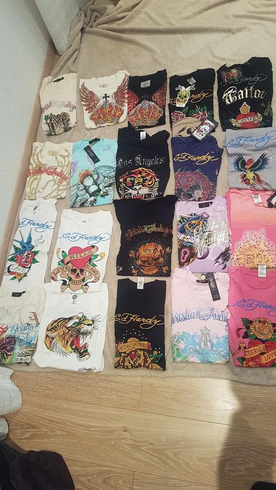 lot de 20 tee shirts dont certains ont encore l'étiquette 200 Nice (06)