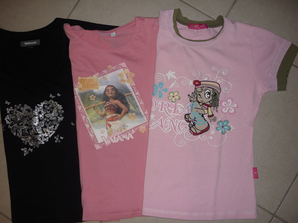 tee shirts fille 10 ans 2 Orléans (45)