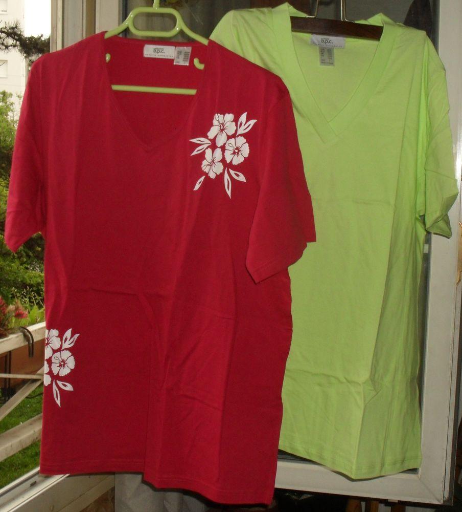 Lot de 2 tee shirts garantis NEUFS. Taille 44/46 12 Montreuil (93)