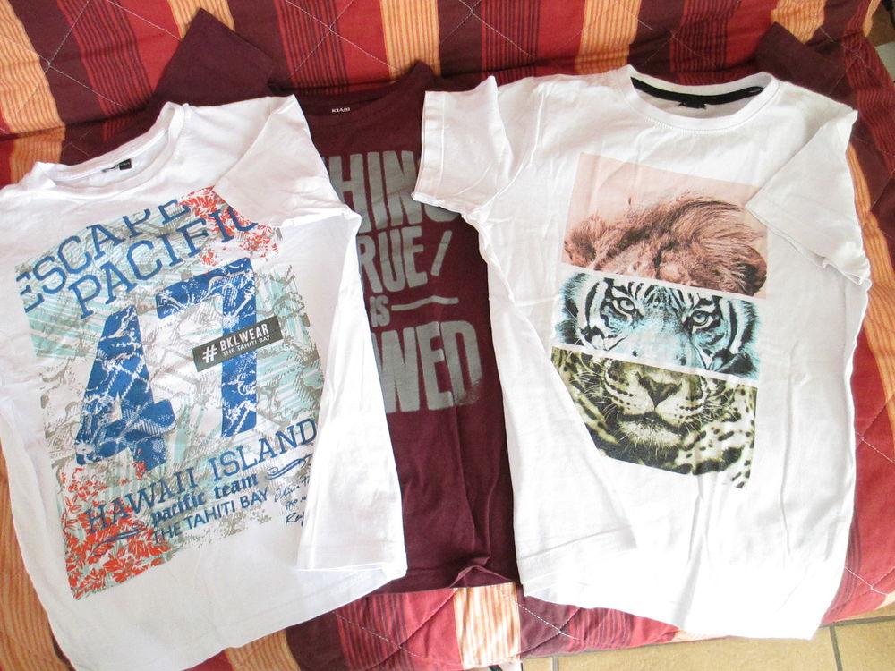 Lot 3 tee shirts garçon 12 A  3 Alfortville (94)