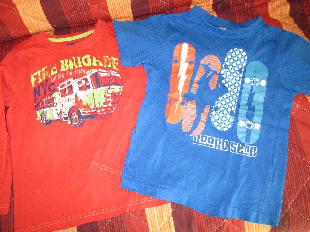Lot 2 tee shirts garçon 6 A  5 Alfortville (94)