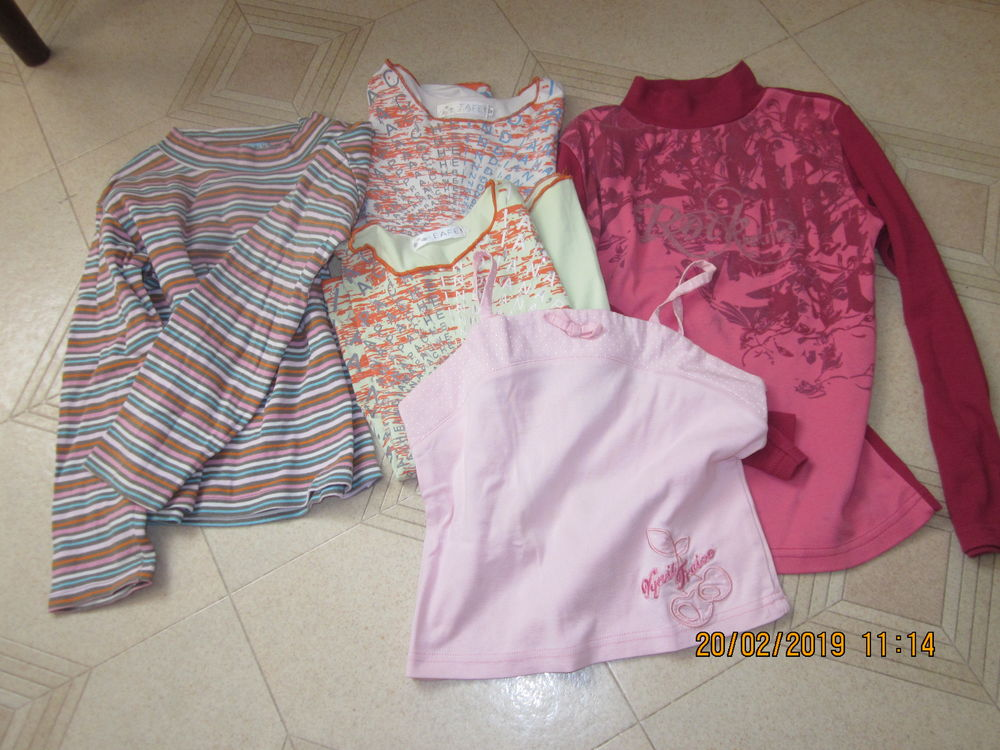 5ccd78ee211b3 Tee-(shirts manches longues et courtes 10 12 ans