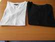 Tee shirts col V taille XS 14 - 16 ans