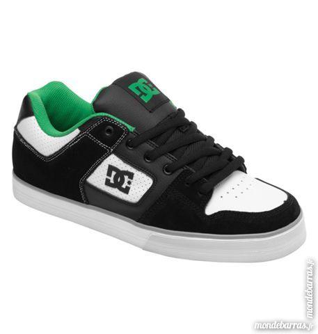 DC shoes pure slim noires, blanches et vertes 20 Fenouillet (31)