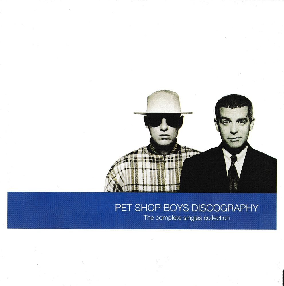 CD Pet Shop Boys  Discography (Complète Singles Collection)  7 Bagnolet (93)