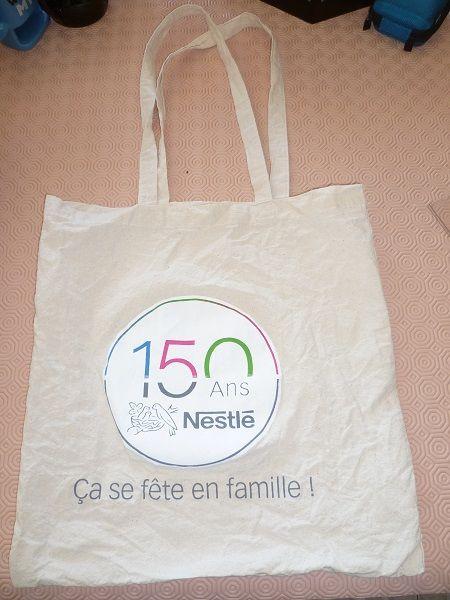 Sac shopping Nestlé chocolat marques TV mode femme 3 Fèves (57)