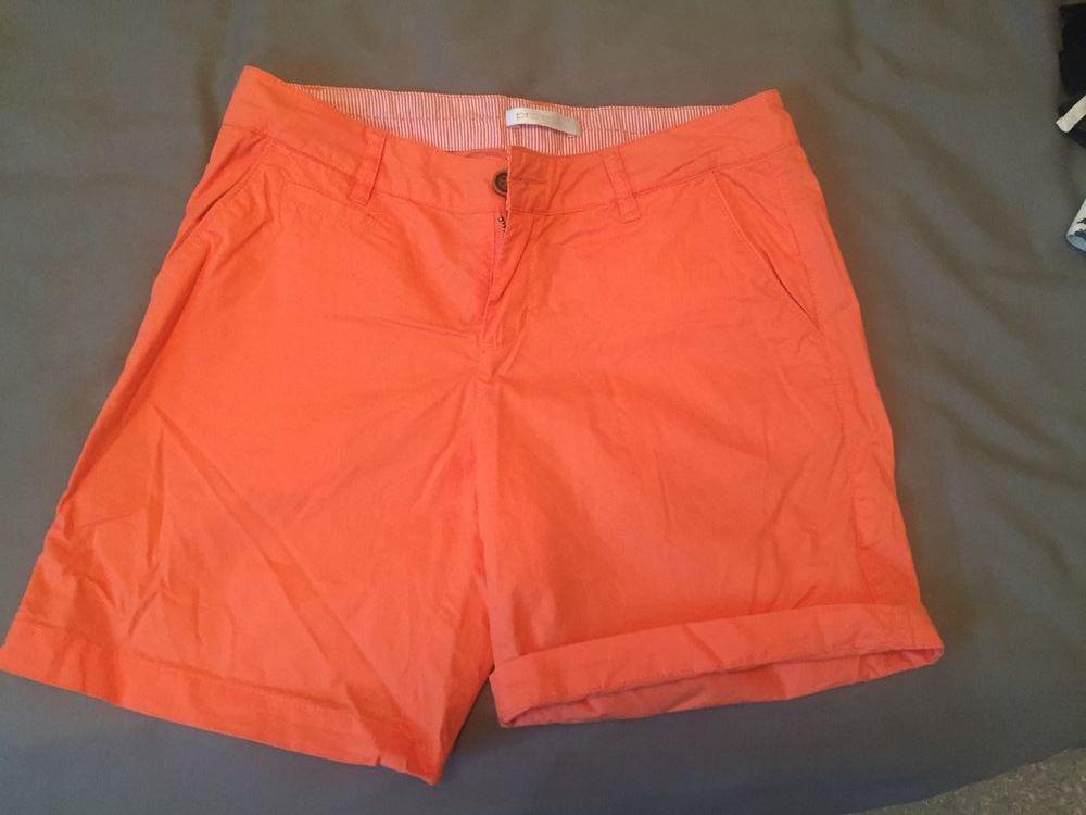 Short femme orange Promod 100% coton 8 Bourg-en-Bresse (01)