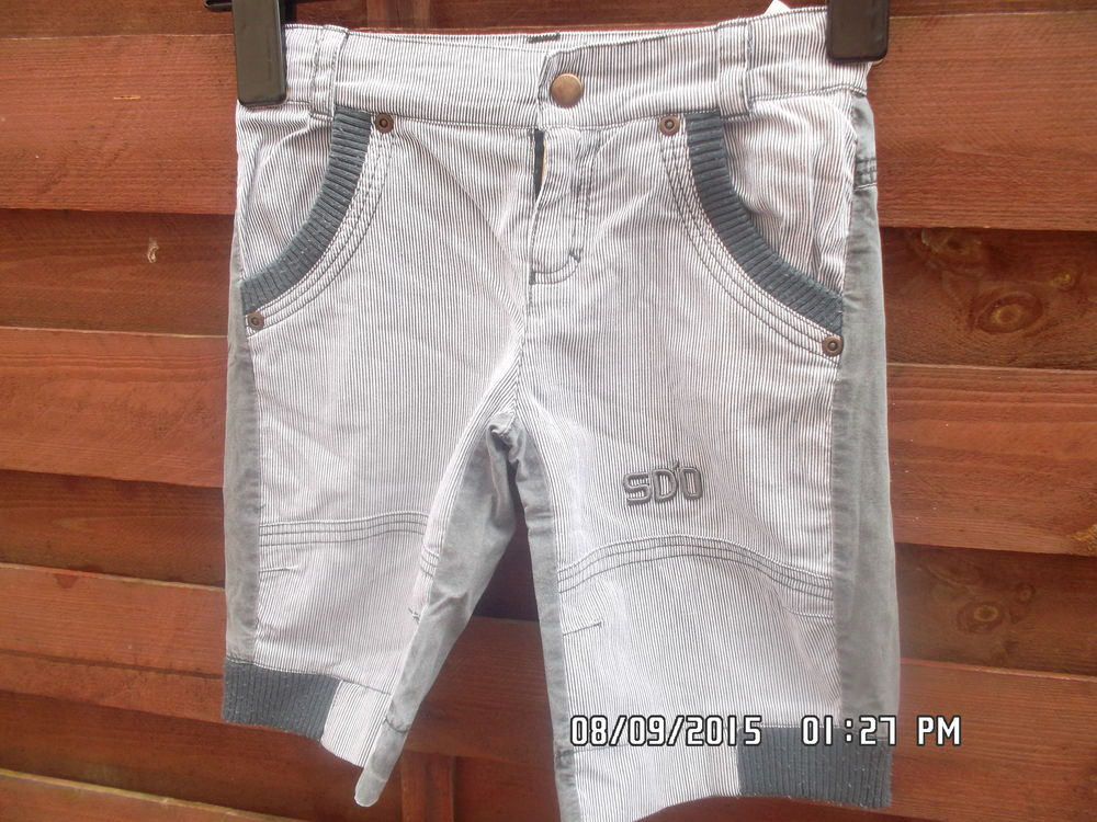 SHORT GRIS SUCRE D ORGE*JUSTE 2E*KIKI60230 2 Chambly (60)