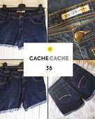 Short en jean CACHE CACHE 38 12 Marcq-en-Barœul (59)