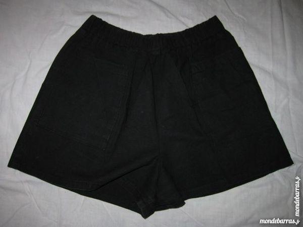 Short Taille 2 Noir femme 3 Chalon-sur-Saône (71)