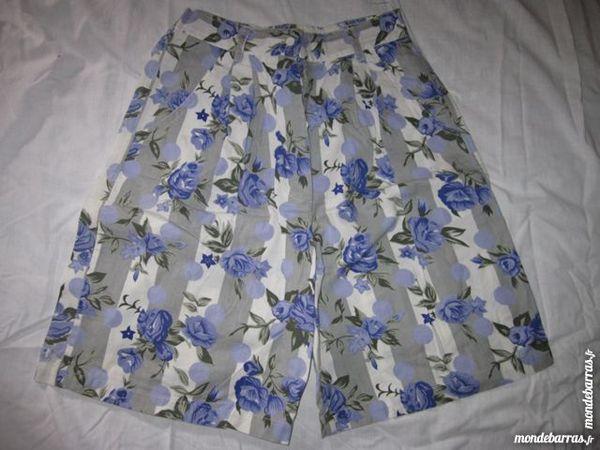 Short type Bermuda Taille 42/44 Blanc femme 5 Chalon-sur-Saône (71)