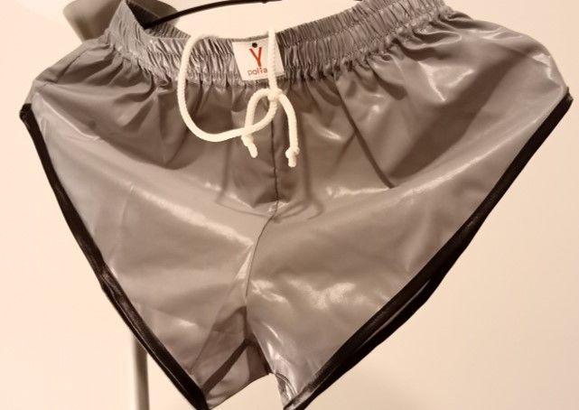 Short vintage nylon polyamide Gris/Noir 4F1 3 sizes S-M-L 33 Lyon 3 (69)