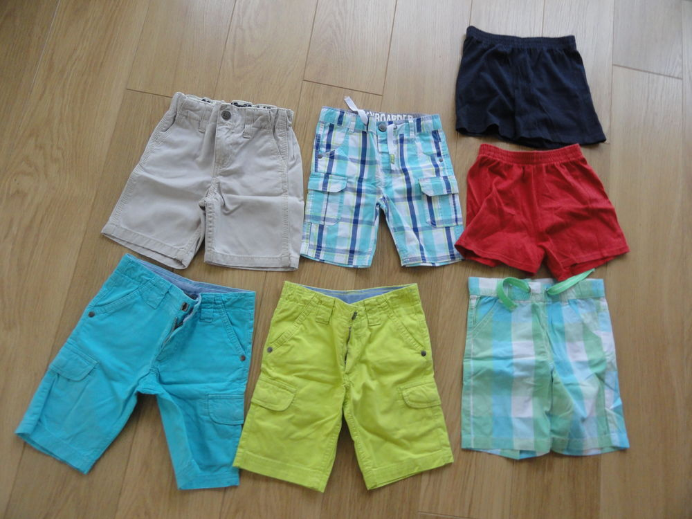 7 shorts en 24 mois. Excellent état. 15 Hettange-Grande (57)