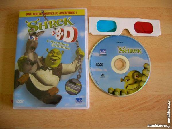 DVD SHREK  L'Aventure continue 2 Nantes (44)
