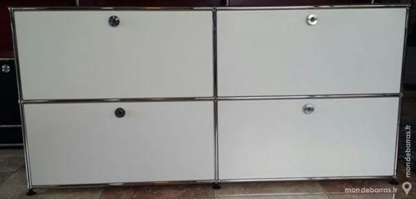 Sideboard 4 cases usm haller à 4 portes abattantes 1560 Chenoise (77)