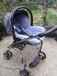 siège auto  de 0 à 8 mois  + châssis   élite  bébé confort Pontault-Combault (77)
