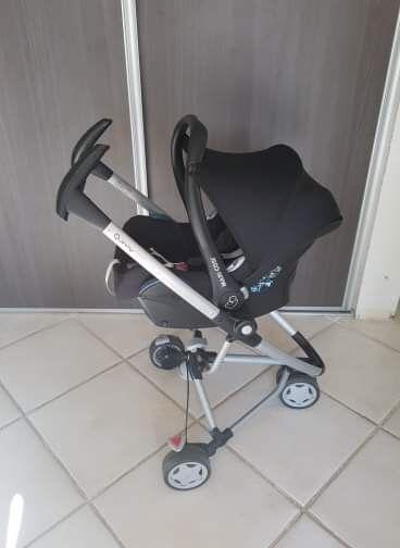 Siège bébé maxi cosy avec chassis Quinny 0 Annecy (74)