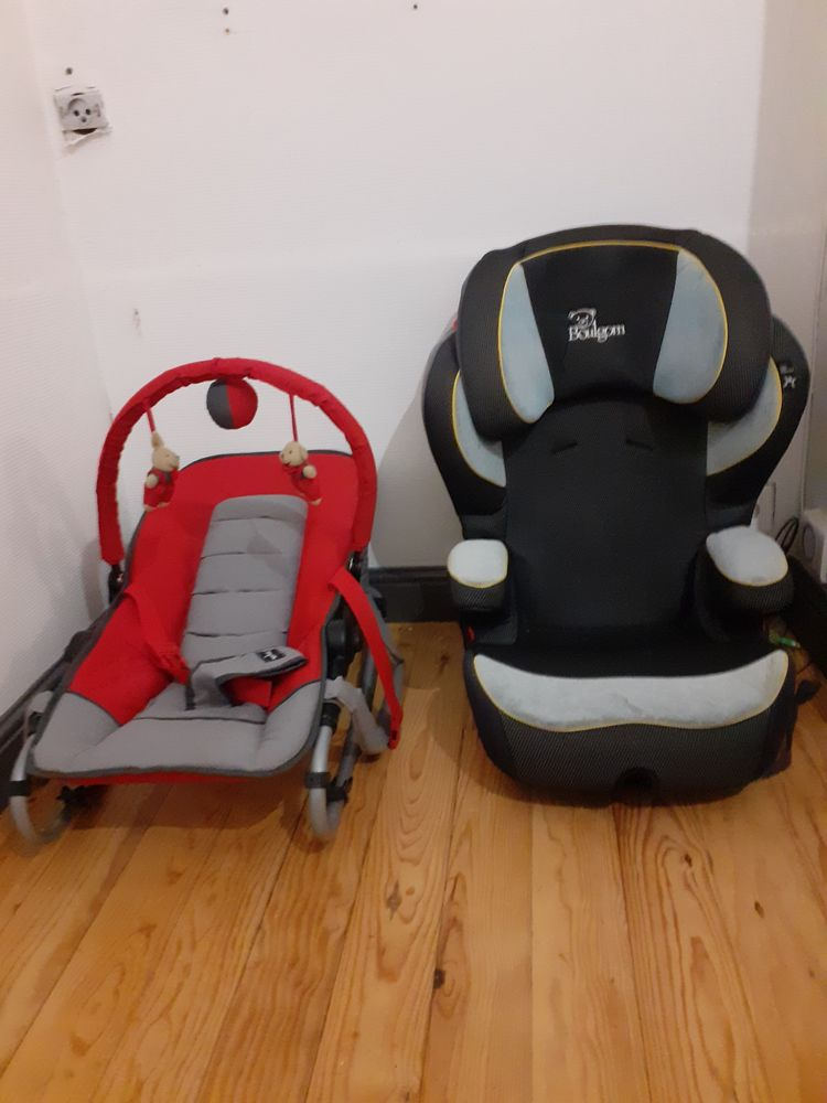 Siège bébé pour voiture et petit couffin rouge 40 Calais (62)