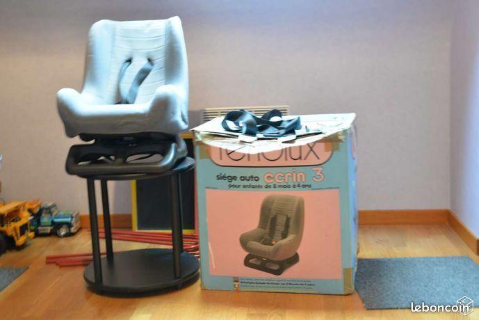 Siège voiture ou peut servir pour porte bébé RENOLUX 10 Mérignies (59)