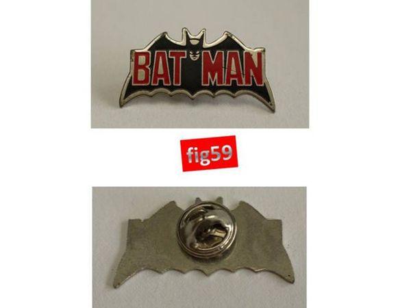 Pin's SIGLE BATMAN en métal 3 Mons-en-Barœul (59)
